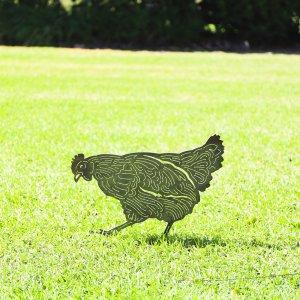 chicken silhouette